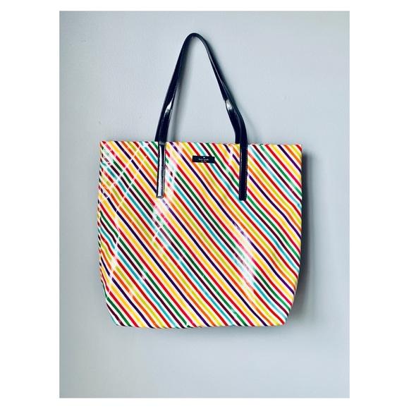 e458f766827 kate spade Bags | Rainbow Striped Tote Bag | Poshmark